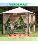 Gazebo Giano by Verdemax - mt 3x3x h2,60