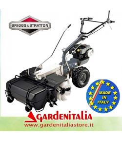 Motospazzatrice GARDENITALIA mod.TM 70 RB - motore B&S 850 Series - Polifunzionale
