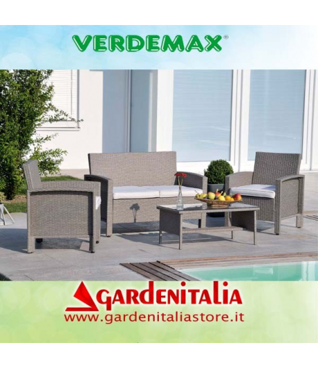 Salotto da giardino mod. Abu Dhabi By Verdemax