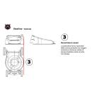 Tagliaerba a scoppio BRILL mod. STEELINE Quattro 52 XL R 6.0