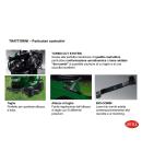 Trattorino BRILL mod. CROSSOVER 92/13 - 92 cm di taglio - trasmissione idrostatica