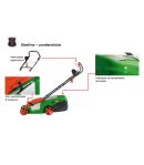 Tagliaerba elettrico BRILL mod. BASIC 34 E - 1200 Watt