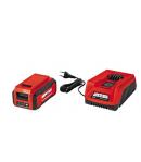 Rasaerba a Batteria al Litio 40 V - 5,0 Ah Grizzly ARM 4041 - 41 cm di taglio - 2 batterie di Serie