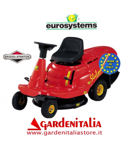 Rider EUROSYSTEMS mod. SLALOM  76 - Cambio Idrostatico-   taglio 76 cm motore B&S 12,5 Hp