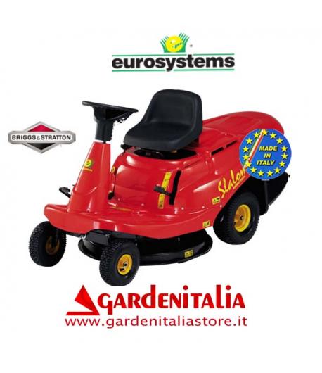 Rider EUROSYSTEMS mod. SLALOM  67 - Cambio Idrostatico-   taglio 67 cm motore B&S 10,5 Hp