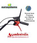Motozappa EUROSYSTEMS mod.EURO 5 EVO  motore a scoppio B&S 750 Series OHV a benzina  con retromarcia - MADE IN ITALY