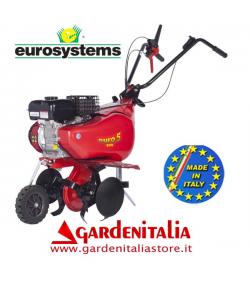 Motozappa EUROSYSTEMS mod.EURO 5 EVO  motore a scoppio Kohler-Lombardini SH 265 OHV a benzina  con retromarcia - MADE IN ITALY