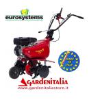 Motozappa EUROSYSTEMS mod.EURO 5 EVO  motore a scoppio SUBARU ROBIN SP 170 OHV a benzina  con retromarcia - MADE IN ITALY
