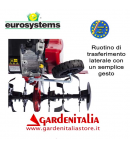 Motozappa EUROSYSTEMS mod.EURO 5 EVO  motore a scoppio HONDA GP 160 OHC a benzina  con retromarcia - MADE IN ITALY