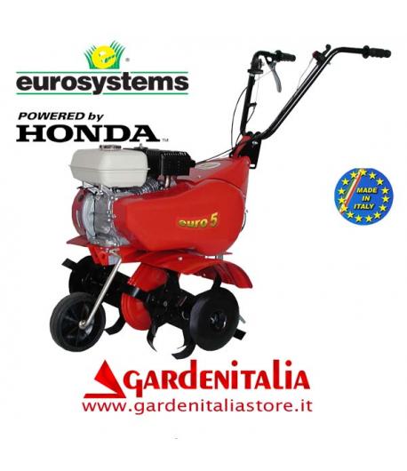 Motozappa EUROSYSTEMS mod.EURO 5   motore a scoppio HONDA GX 160  a benzina  con retromarcia - MADE IN ITALY