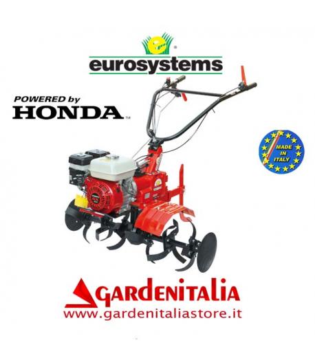 Motozappa EUROSYSTEMS mod.EURO 102   motore a scoppio HONDA GX 160  a benzina  con retromarcia - MADE IN ITALY
