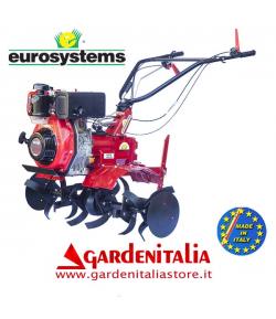 Motozappa EUROSYSTEMS mod.EURO 102   motore 178 F  DIESEL con retromarcia - MADE IN ITALY