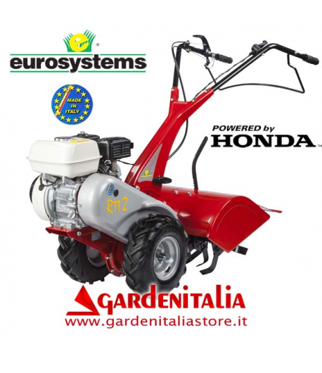 Motocoltivatore EUROSYSTEMS mod.RTT 2 - motore HONDA GP 160 OHV- fresa da 50 cm