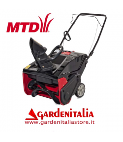 Spazzaneve MTD SMART M 53 motore a Benzina  Turboneve Turbina da Neve