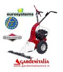 Motofalciatrice EUROSYSTEMS MNF M800 - Marcia Avanti - Motore a scoppio a benzina B&S 450- Made In Italy