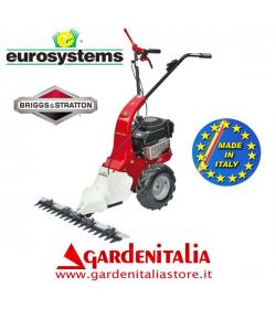 Motofalciatrice EUROSYSTEMS MNF M850 - Marcia Avanti - Motore a scoppio a benzina B&S 625 da 190 cc- Made In Italy
