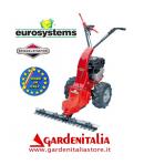 Motofalciatrice EUROSYSTEMS MNF 502 - con Retromarcia - Motore a scoppio a benzina B&S 625 da 190 cc- Made In Italy