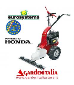 Motofalciatrice EUROSYSTEMS MNF M502 - con Retromarcia - Motore a scoppio a benzina HONDA GCV 160- Made In Italy