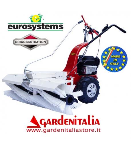 Motospazzatrice EUROSYSTEMS MNF M502 - con Retromarcia - Motore a scoppio a benzina B&S 625 da 190 cc- Made In Italy