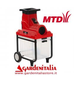 Biotrituratore a Rullo MTD mod. SL 2800 con cestello - elettrico 2800 Watt- Tritarami