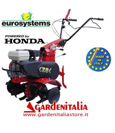 Motozappa EUROSYSTEMS mod.Z 8 motore a scoppio HONDA GX 160 a benzina con retromarcia - MADE IN ITALY