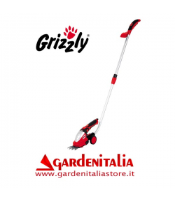 Forbice Tagliaerba Tagliasiepi al Litio GRIZZLY AGS 72-2 Lion Set 7,2 V