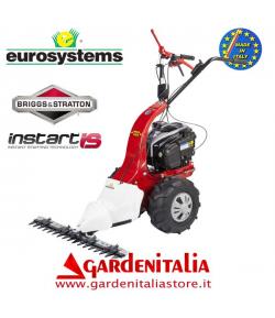 Motofalciatrice EUROSYSTEMS MNF M502 - con Retromarcia - Motore a scoppio a benzina B&S 675 InStart Avv.Elettrico Made in Italy
