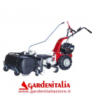 Motospazzatrice EUROSYSTEMS MNF M800 -Motore a scoppio a benzina B&S 450 E-Series - Made In Italy