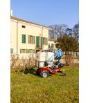 Motocarriola Irroratrice EUROSYSTEMS mod. SPRAYER con motopompa trazionata con motore B&S 675 - MADE IN ITALY