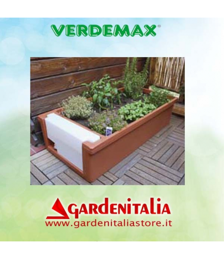 Serra per orto in terrazzo e balcone - Verdemax - GardenItaliaStore.it
