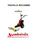 Esploso Ricambi Trinciaerba Falciatutto Eurosystems MNF Made in Italy