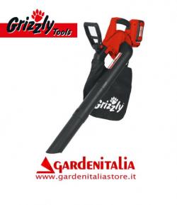 Aspiratore Soffiatore a Batteria al Litio 40 V - 2,5 Ah Grizzly Tools ALS 4025