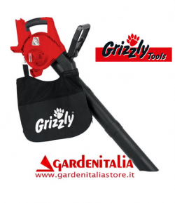 Aspiratore Soffiatore Grizzly Tools ALS 4025 -NO BATTERIA NO CARICA BATTERIA