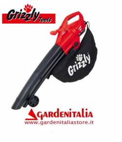 Aspiratore/Soffiatore Aspirafoglie GRIZZLY ELS 2614-2 E - 2600 Watt
