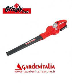 Soffiatore a Batteria al Litio Grizzly Tools ALB 2420 Lion Set - Batteria da 24 V - 2,0 Ah