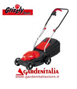 Tagliaerba Elettrico Grizzly Tools ERM 1231-2 G da 31 cm di taglio - 1200 Watt