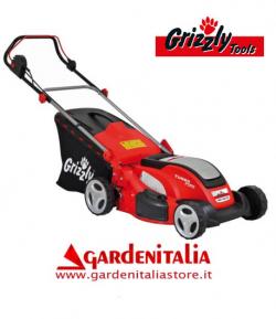 Tagliaerba Elettrico Grizzly ERM 1846 GT da 46 cm di taglio - 1800 Watt - Telaio in Acciaio