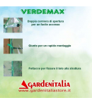 Serra per giardino mod. Clematis cm155x155x h205