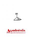 Dente Singolo da Barra Falciante per Motofalciatrice Serie M210/ P 55 / M90