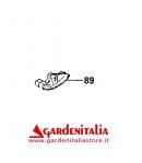 Slitta in Plastica per Motofalciatrice Serie M210/ P 55