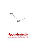 Boccola Nylon D.20x25 H 30 con Collare per Tosaerba Falciatutto Eurosystems