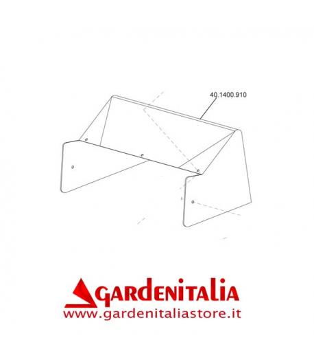 Bandella Protezione Anteriore per Tosaerba Falciatutto  P 70 EVO Eurosystems