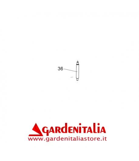Albero Rinvio Inferiore per Spazzola Frontale P 70 EVO Eurosystems