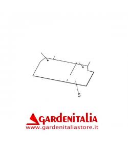 Bandella in Gomma per Spazzola Frontale P 70 EVO Eurosystems