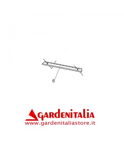 Lamierino Fissaggio Bandella per Spazzola Frontale P 70 EVO Eurosystems
