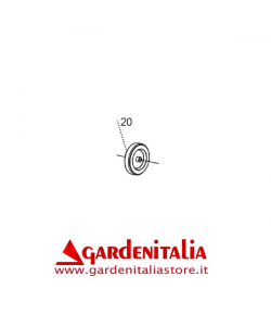 Ruota Trasferimento SM8010 De 80x28 Di 10 per Spazzola Frontale P 70 EVO / P 55 Eurosystems