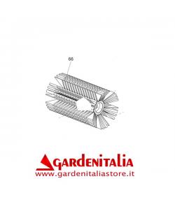 Semispazzola per Spazzola da 88 con Setole a Spirale per Spazzola Eurosystems