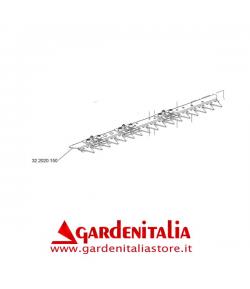 Corpo Barra Falciante 87 cm per MNF Motofalciatrice Eurosystems