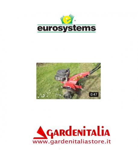 Video Puliprato a Molle su Motozappa Z 2 Eurosystems al lavoro