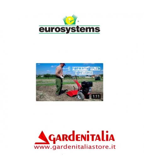 Video Motocoltivatore RTT 3 Eurosystems al lavoro